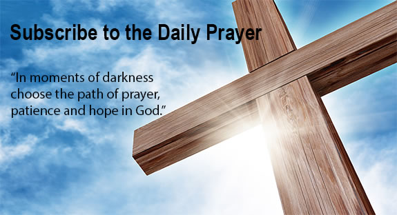 Subscribe to the Daily Prayer.