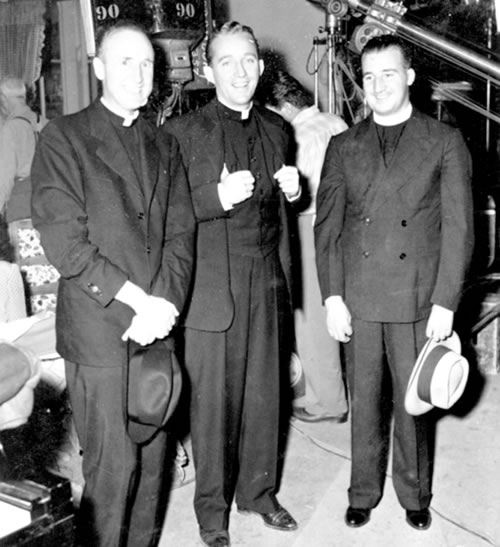 Bing Crosby with Fr. O'Connor
