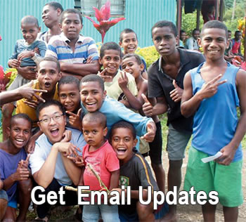 Get email updates from the Columban Fathers