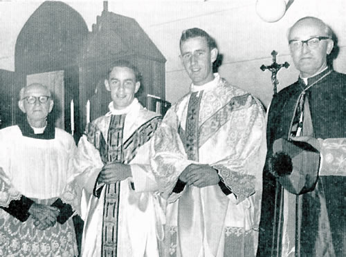 Fr. Lynn's ordination in Perth, Australia