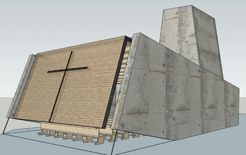 Design for new chapel