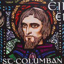 St. Columban stamp in Ireland