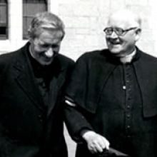 Columban founders Bishop Galvin and Fr. Blowick
